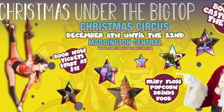 Christmas under the Bigtop tickets