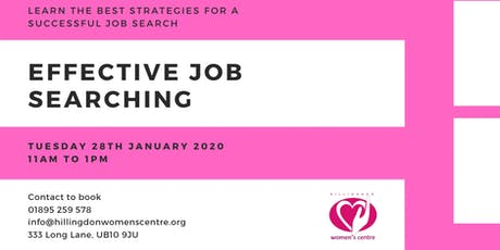 Effective Job Searching tickets