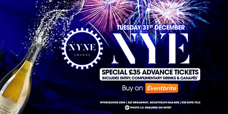 NEW YEAR'S EVE @ Nyne lounge. 18+. ID required tickets