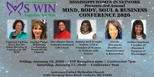 2020 Mind Body Soul & Business  Conference