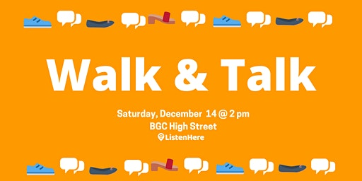 Walk & Talk: Peer Support on the Go!