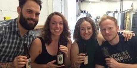 Brewery Tour and Tutored Beer Tasting - April tickets
