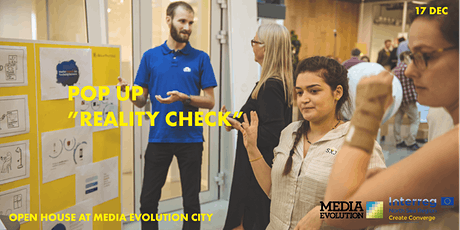 Pop in - reality check at Media Evolution City tickets
