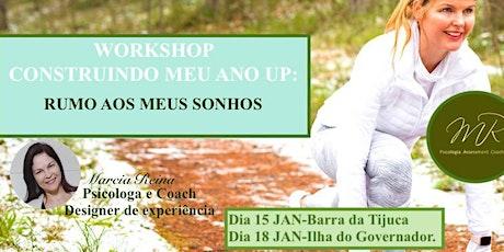 Workshop Construindo meu Ano UP : Rumo aos meus Sonhos. tickets