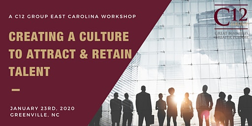 Creating A Culture To Attract & Retain Talent Workshop