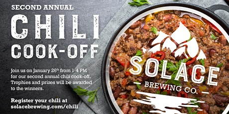 Solace Brewing Company's 2020 Chili Cook-off-Chili Registration tickets