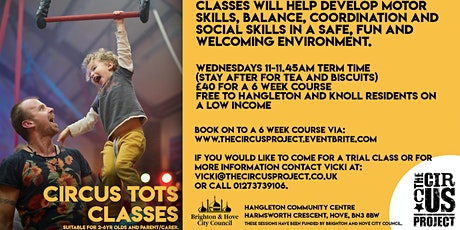 2020 Circus Tots 5 Week Course (Apr-May)  tickets