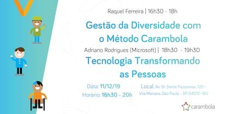 CaramTalks - Meetup Adriano Rodrigues (Microsoft) ingressos
