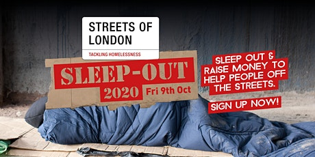Streets of London Sleep-Out 2020 tickets