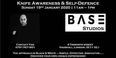 Knife Awareness & Self-Defence! tickets