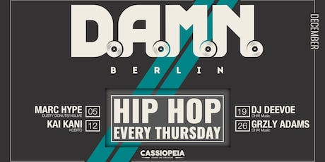 D.A.M.N. BERLIN tickets