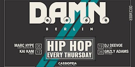 D.A.M.N. BERLIN Tickets