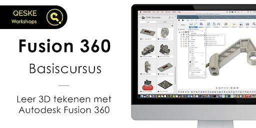 Fusion 360 Basiscursus - Leer 3D tekenen met Autodesk Fusion 360