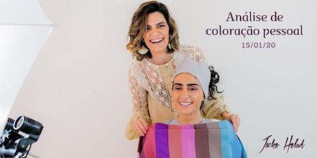 Teste de Coloração Pessoal ingressos