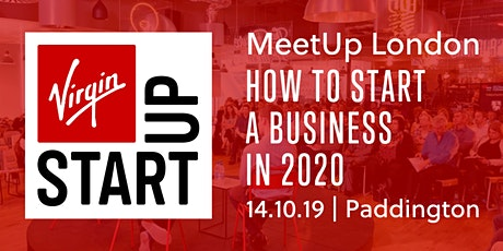 Virgin StartUp MeetUp: How to start a business in 2020 tickets