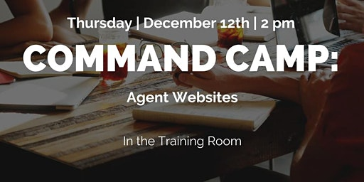 Command Camp: Agent Websites