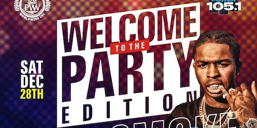 WELCOME TO THE PARTY with POP SMOKE & PROSTYLE @ STREO GARDEN LONG ISLAND