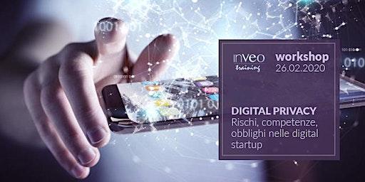 Digital Privacy. Rischi, competenze, obblighi nelle digital startup.
