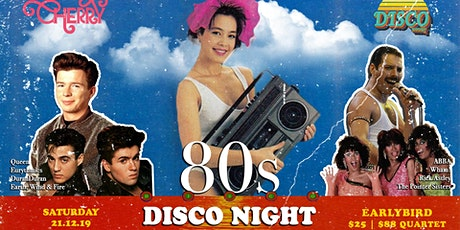 80s DISCONIGHT X CHERRY DISCOTHEQUE tickets