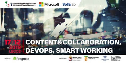 """CONTENT&COLLABORATION,DEVOPS, SMART WORKING"""