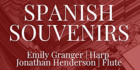 SPANISH SOUVENIRS: Emily Granger & Jonathan Henderson / Brisbane Recital tickets