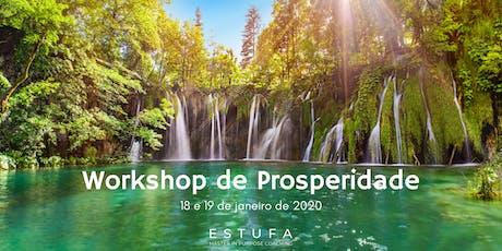 Workshop de Prosperidade ingressos