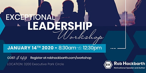 Exceptional Leadership Workshop