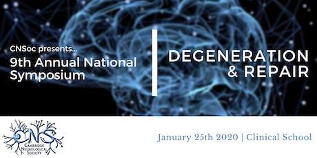 CNSoc 9th Annual National Symposium tickets