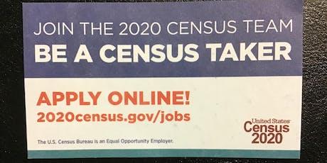 U.S. Census Recruitment Event tickets