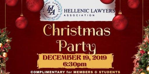 Hellenic Lawyers Association Annual Christmas Cheer