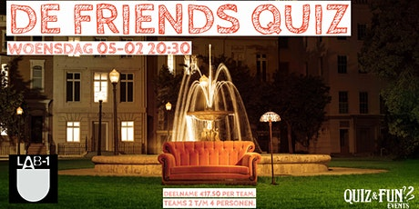 De Friends Quiz | Eindhoven tickets