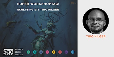 Game Art - Super Workshoptag: Sculpting mit Timo Hilger