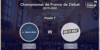 Match d'éloquence : GEM en Débat VS La Tribune Ieseg