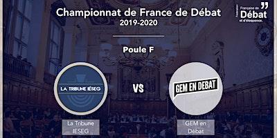 Match d'éloquence : GEM en Débat VS La Tribune Ieseg