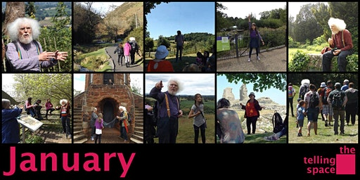 Telling Space Family Storytelling Club: Carding Mill Valley Storywalk