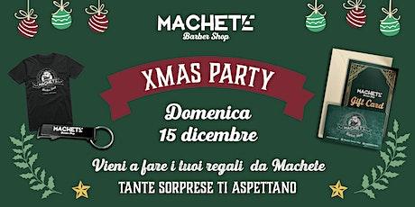 Xmas Party Machete Torrevecchia biglietti