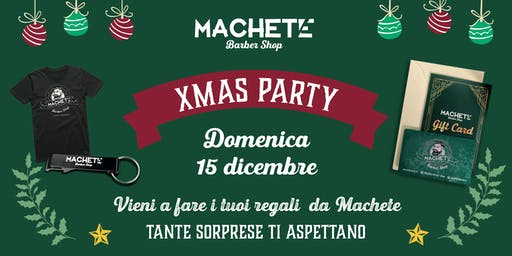 Xmas Party Machete Torrevecchia
