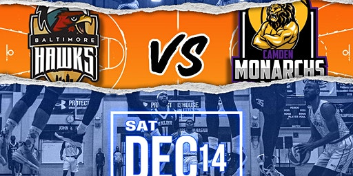 Baltimore Hawks vs Camden Monarchs| RIVALRY GAME