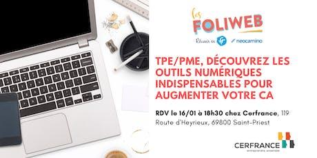 [Lyon] TPE/PME, découvrez les outils numériques indispensables pour augmenter votre CA billets