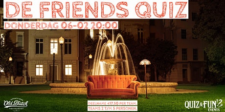 De Friends Quiz | Breda tickets