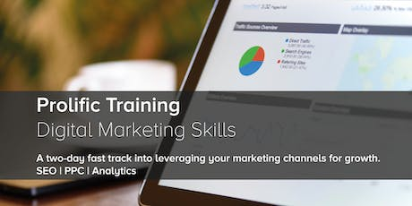 Digital Marketing Skills - SEO | PPC | Data Analytics tickets
