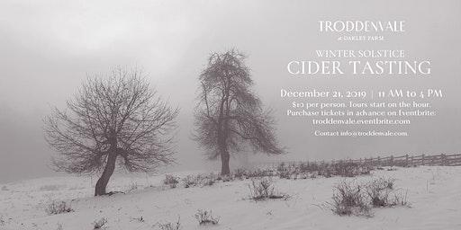 Cider Tasting, Winter Solstice Celebration