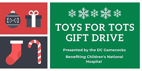 DC Gamecocks Toys for Tots and Happy Hour! tickets