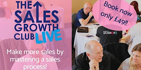 The Sales Growth Club Live - Sales Execution tickets
