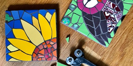 Mosaic Workshop with @judyjamjarmosaics- CreativeStirling Crowdfunder Award tickets