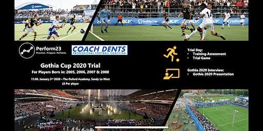 Gothia Cup 2020 Tour Trial Event