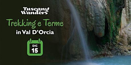 Trekking e Terme in Val d'Orcia biglietti