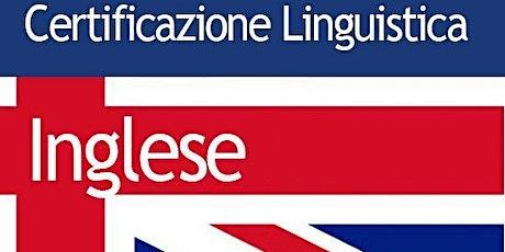 ISCRIZIONE Esame Certificazione Linguistica PET biglietti