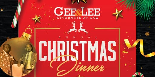 GEE & LEE Law Firm 3rd Annual Christmas Dinner