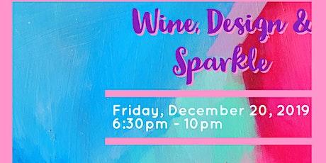 Wine, Design & Sparkle tickets